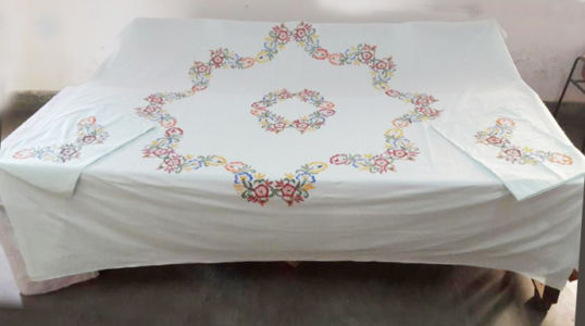 Bed Sheet :  Rs 500/-