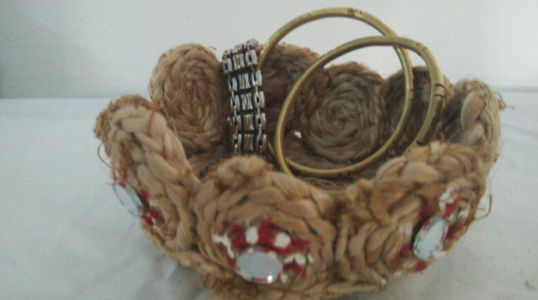 Jute Pen Holder :  Rs 100/-